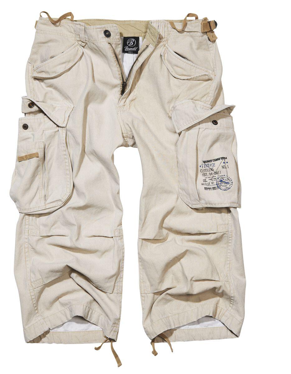 Image of   Brandit Industry Vintage 3/4 Vintage shorts beige