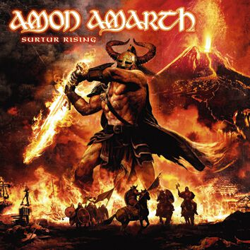 Image of   Amon Amarth Surtur rising CD standard