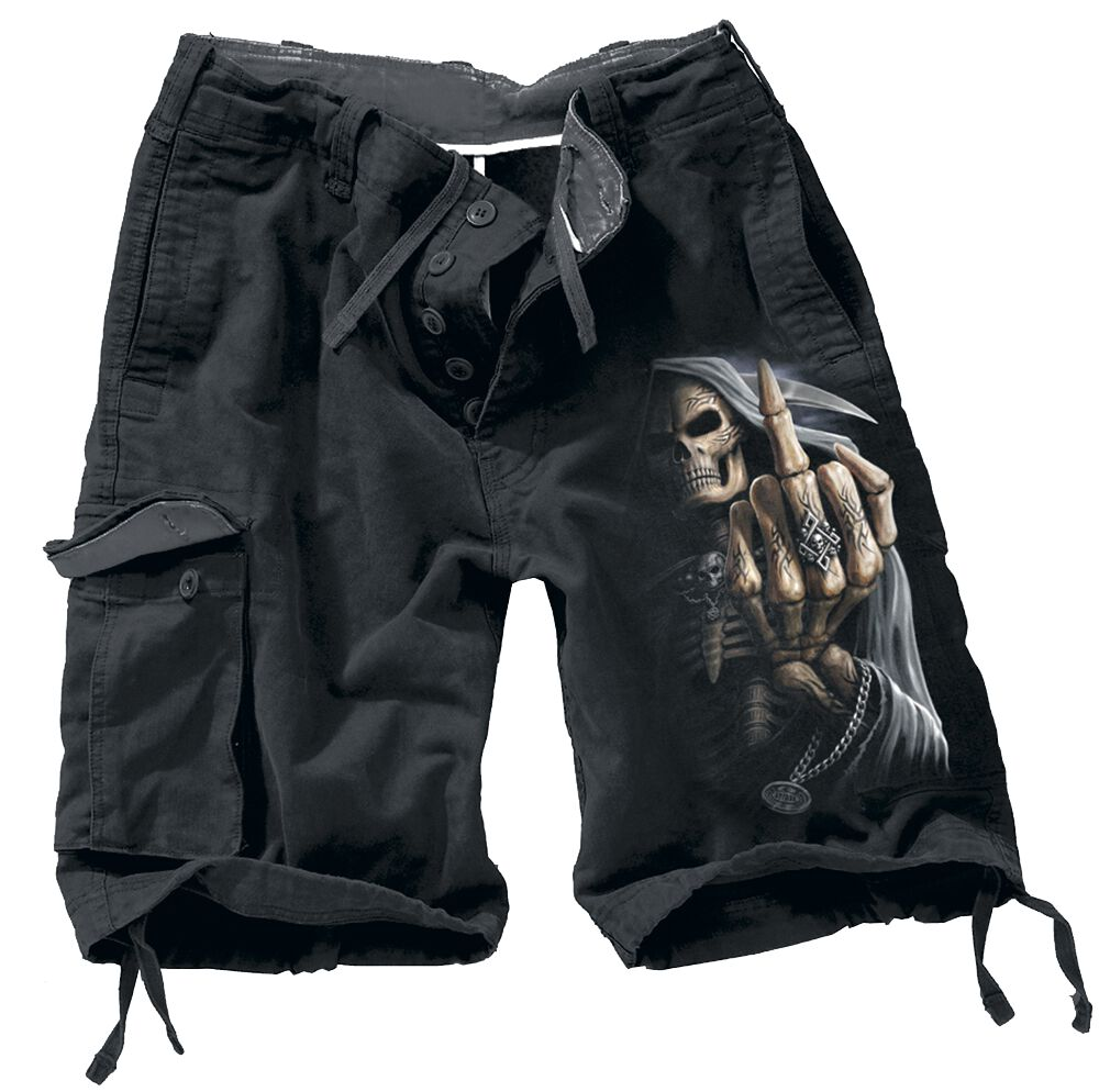 Image of   Spiral Bone Finger Vintage shorts sort