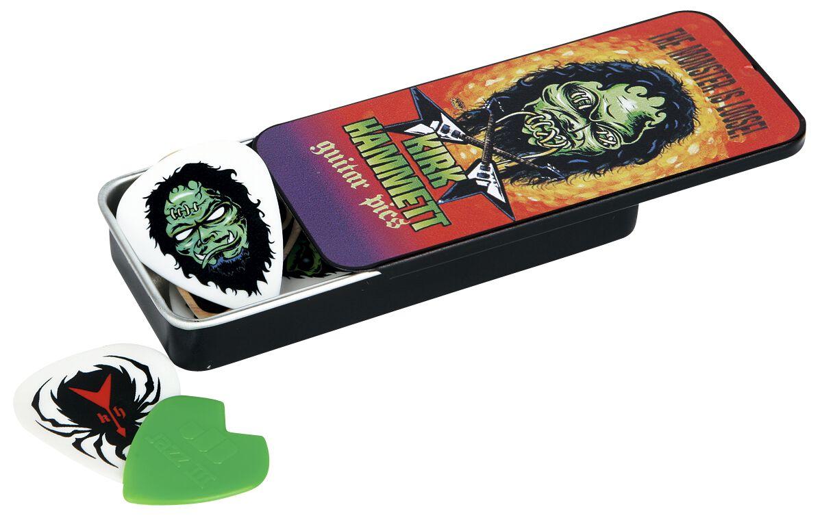 Image of   Metallica Dunlop - Kirk Hammett Pick Tin Plekter Standard