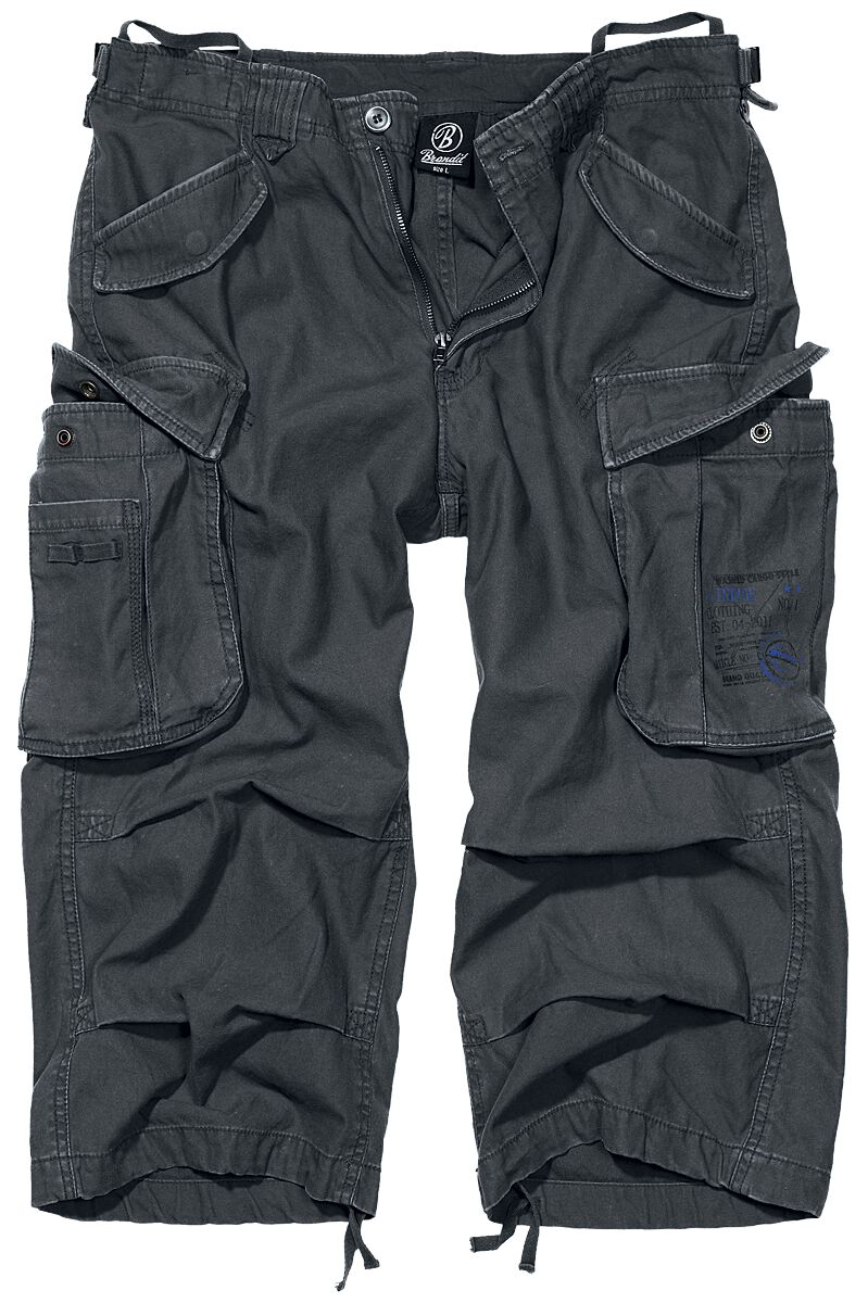 Image of   Brandit Industry Vintage 3/4 Vintage shorts antracit