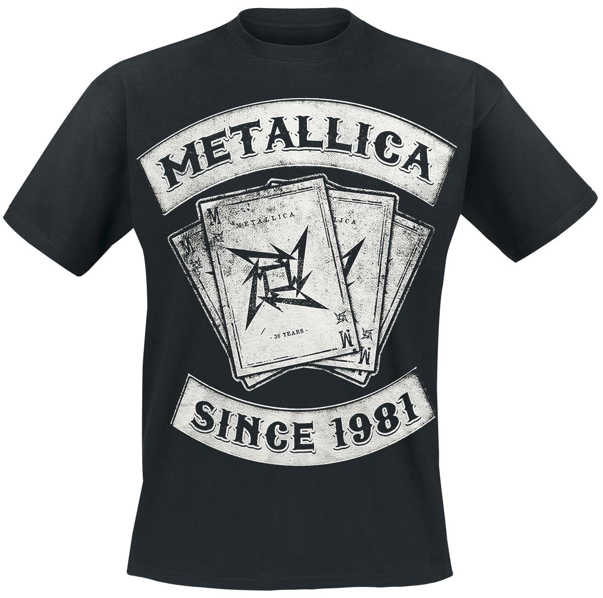 Image of   Metallica Dealer T-Shirt sort