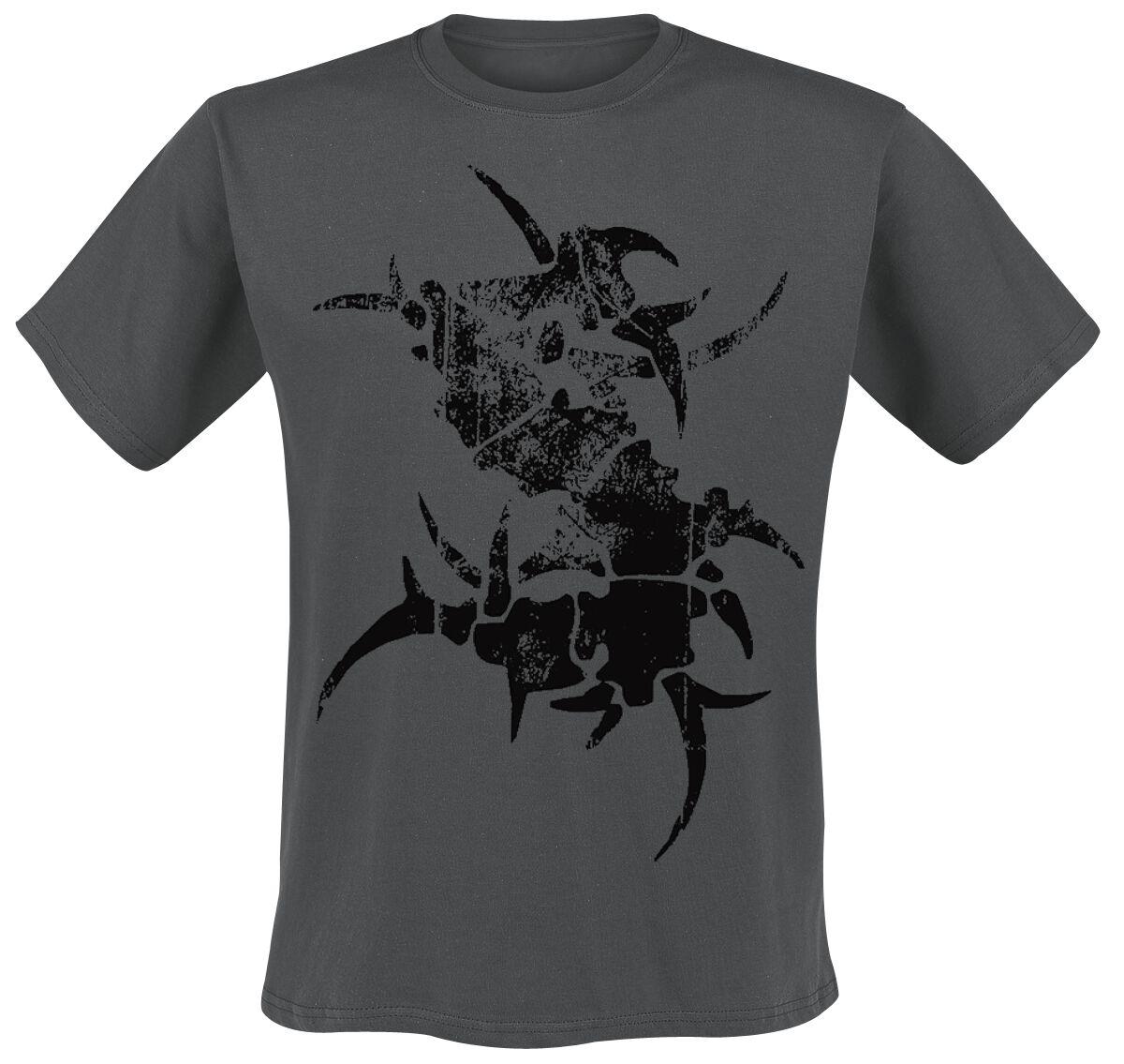 Zespoły - Koszulki - T-Shirt Sepultura Logo T-Shirt ciemnoszary - 202333