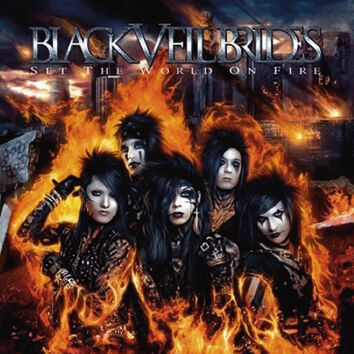 Black Veil Brides Set the world on fire CD Stan...