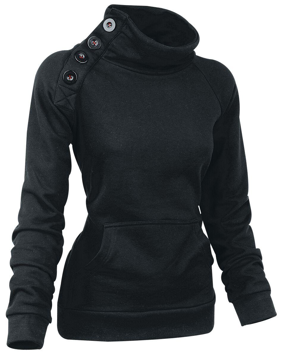 Image of   Forplay Sideways Girlie sweatshirt sort