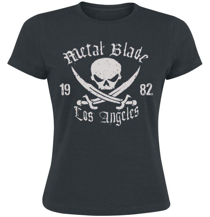 Zespoły - Koszulki - Koszulka damska Metal Blade Pirate Logo Koszulka damska czarny - 205142