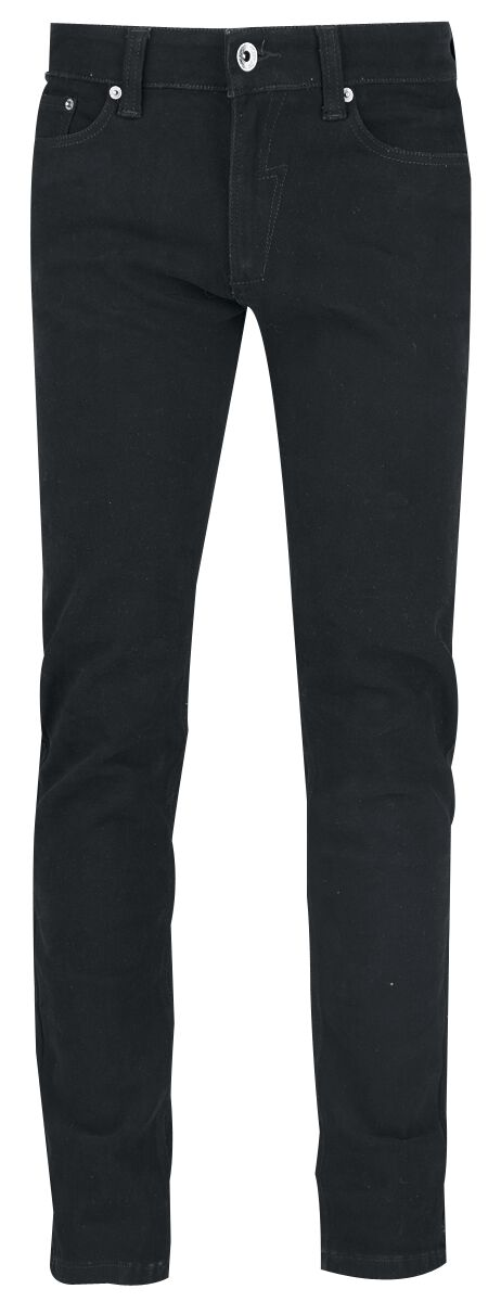 Image of   Forplay Skinny Jeans sort