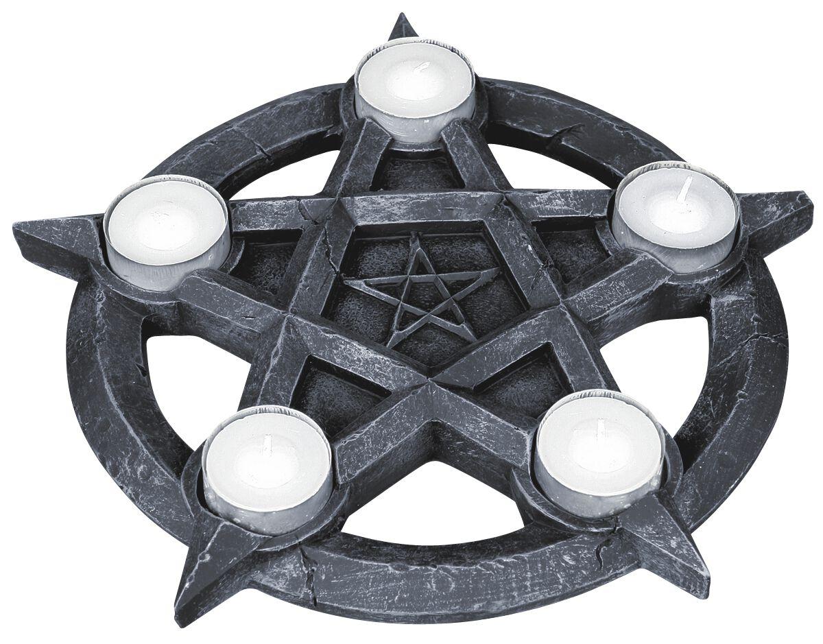 Image of   Nemesis Now Pentagram Tealights Fyrfadslys holder sort