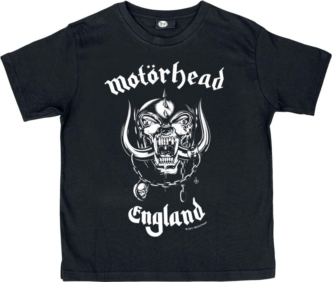 Image of   Motörhead England Børnetrøje sort
