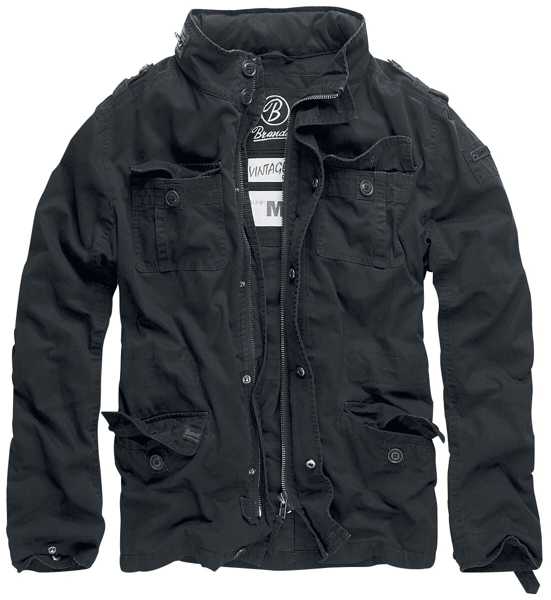 Image of   Brandit Britannia Jacket Jakke sort