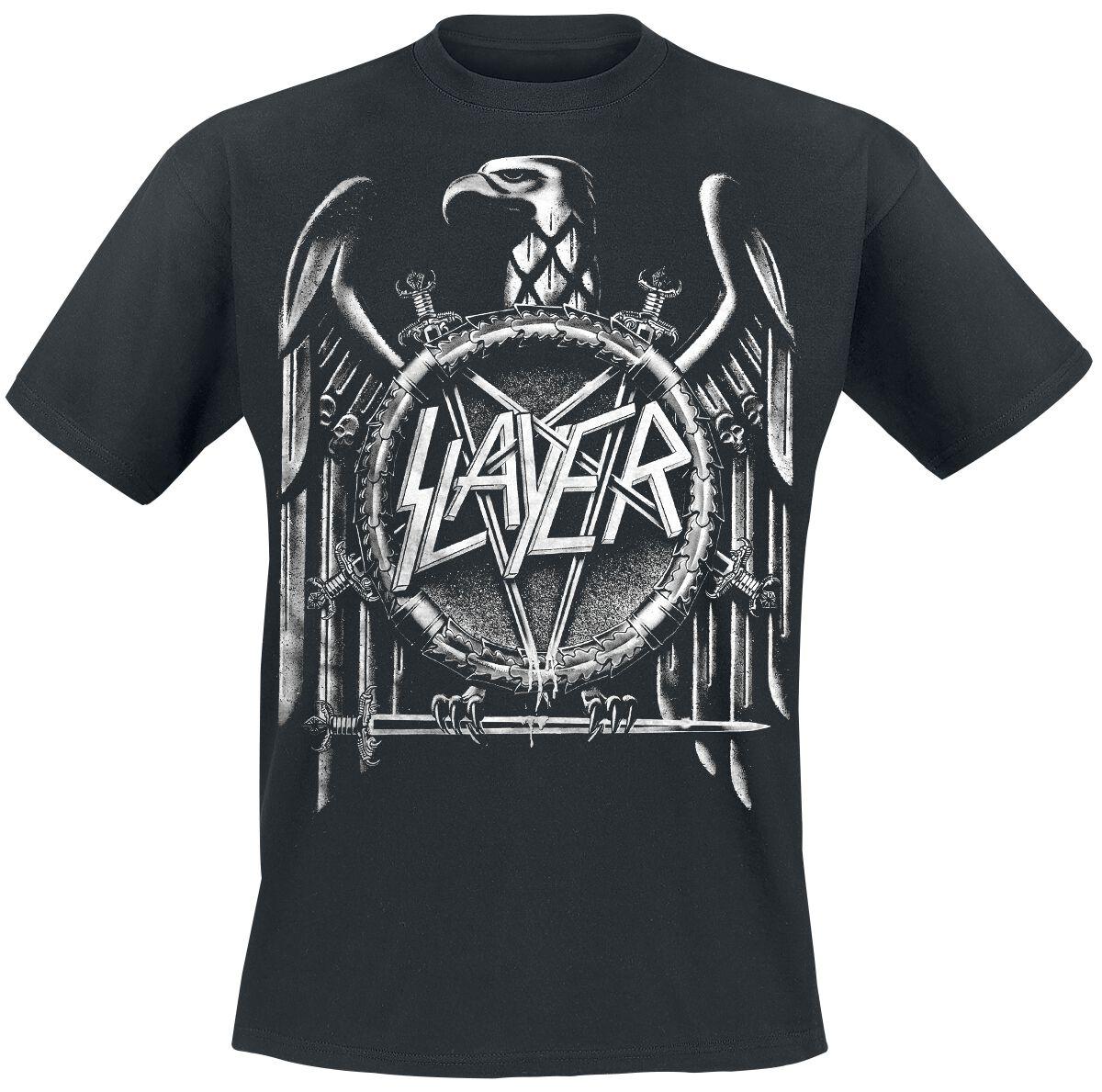Image of   Slayer Eagle T-Shirt sort