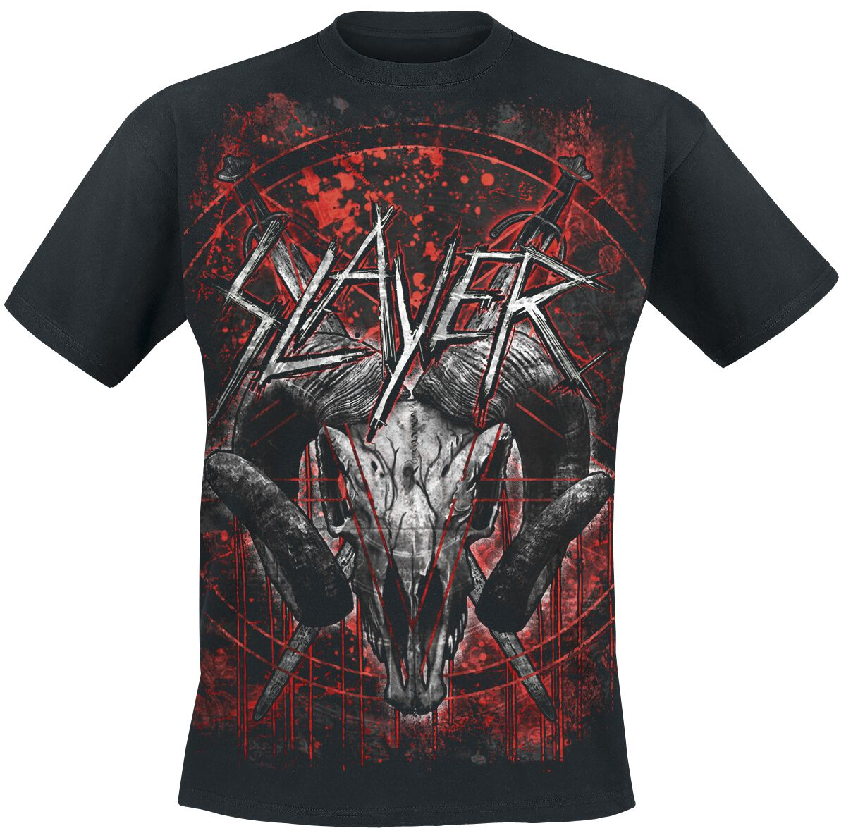 Image of   Slayer Mongo Goat T-Shirt sort