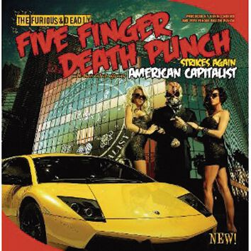 Image of   Five Finger Death Punch American capitalist CD standard