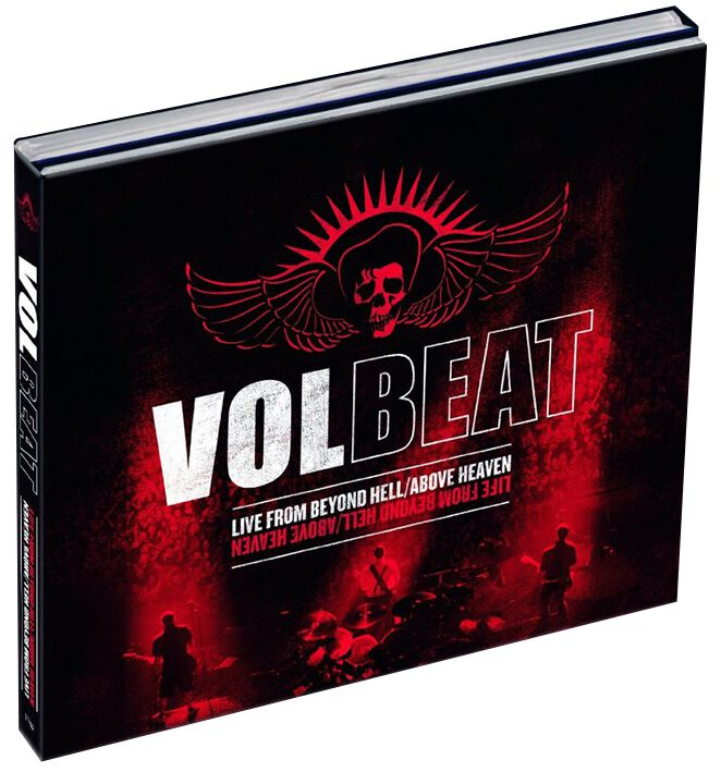 Image of   Volbeat Live from beyond hell / Above heaven CD & 2-DVD standard