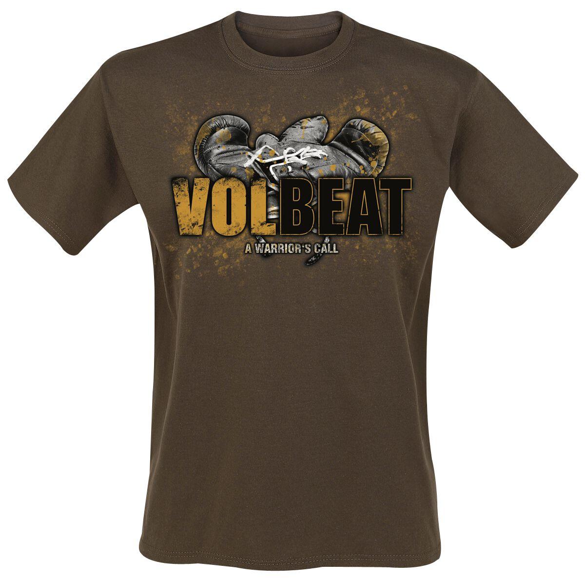 Volbeat Boxing T-Shirt braun