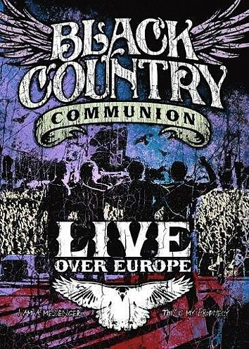 Image of Black Country Communion Live over Europe 2-DVD Standard