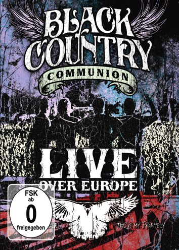 Image of Black Country Communion Live over Europe Blu-ray Standard
