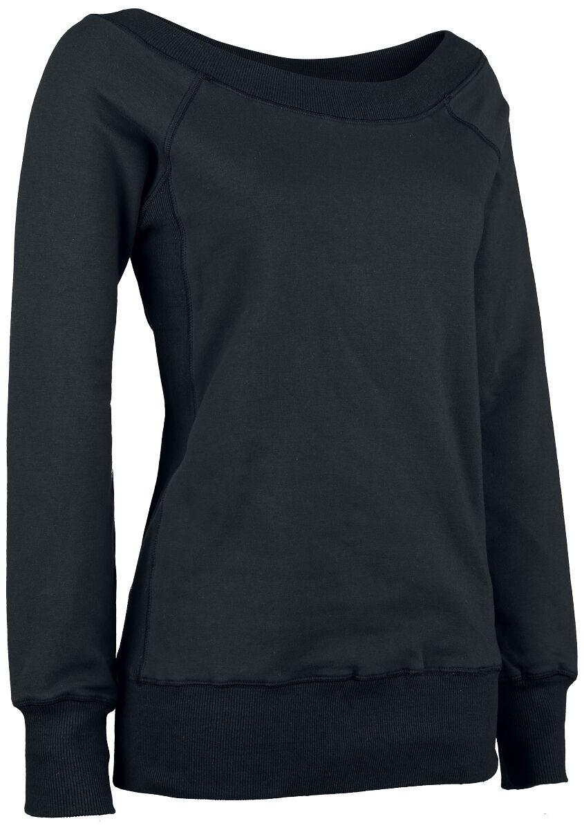 Image of   Forplay Sweater Girlie sweatshirt sort