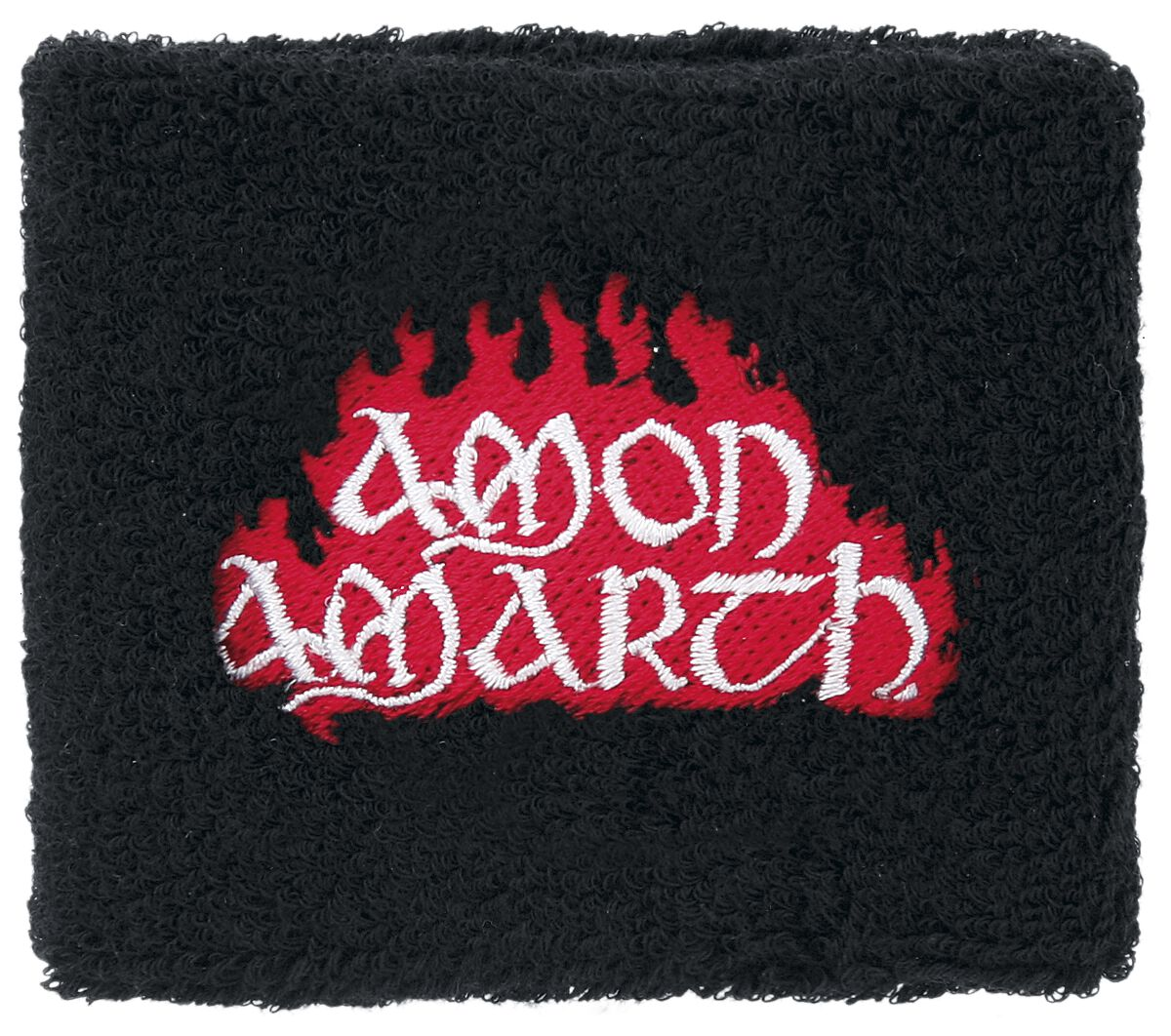 Image of   Amon Amarth Red Flame Armbånd sort