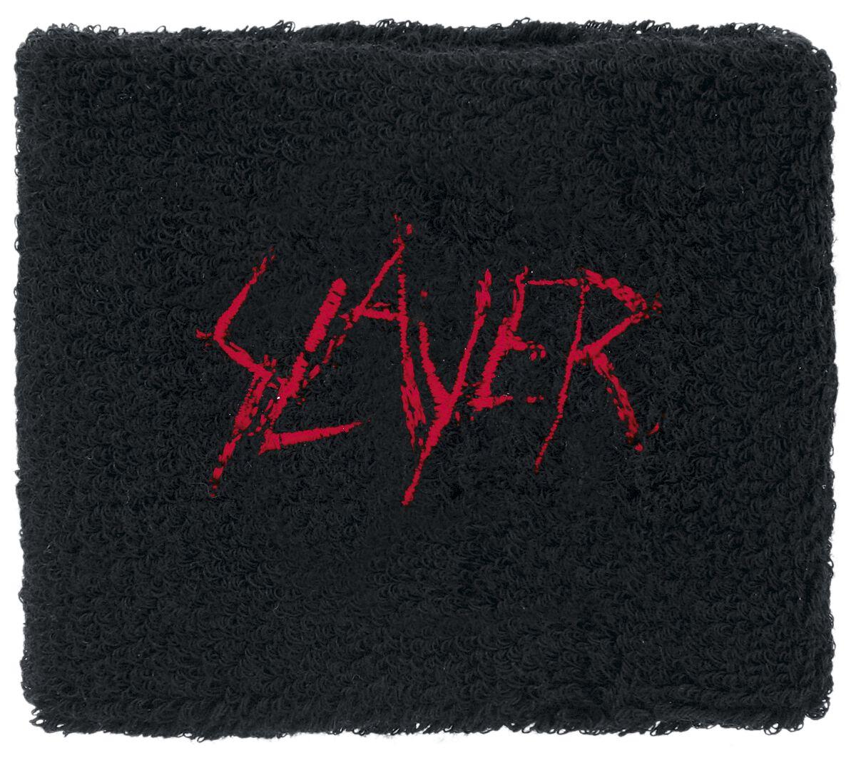 Image of   Slayer Logo Armbånd sort