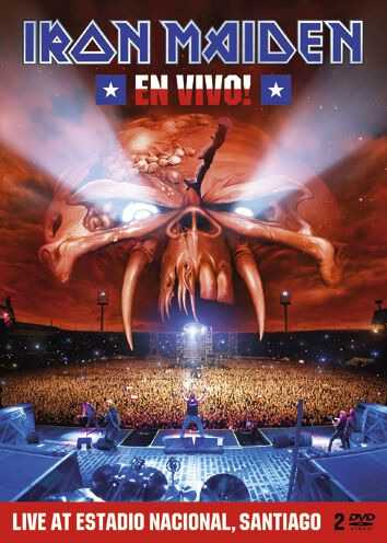 Image of   Iron Maiden En vivo 2-DVD standard