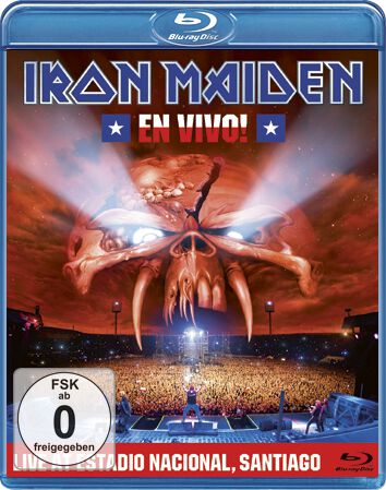 Image of   Iron Maiden En vivo Blu-ray standard