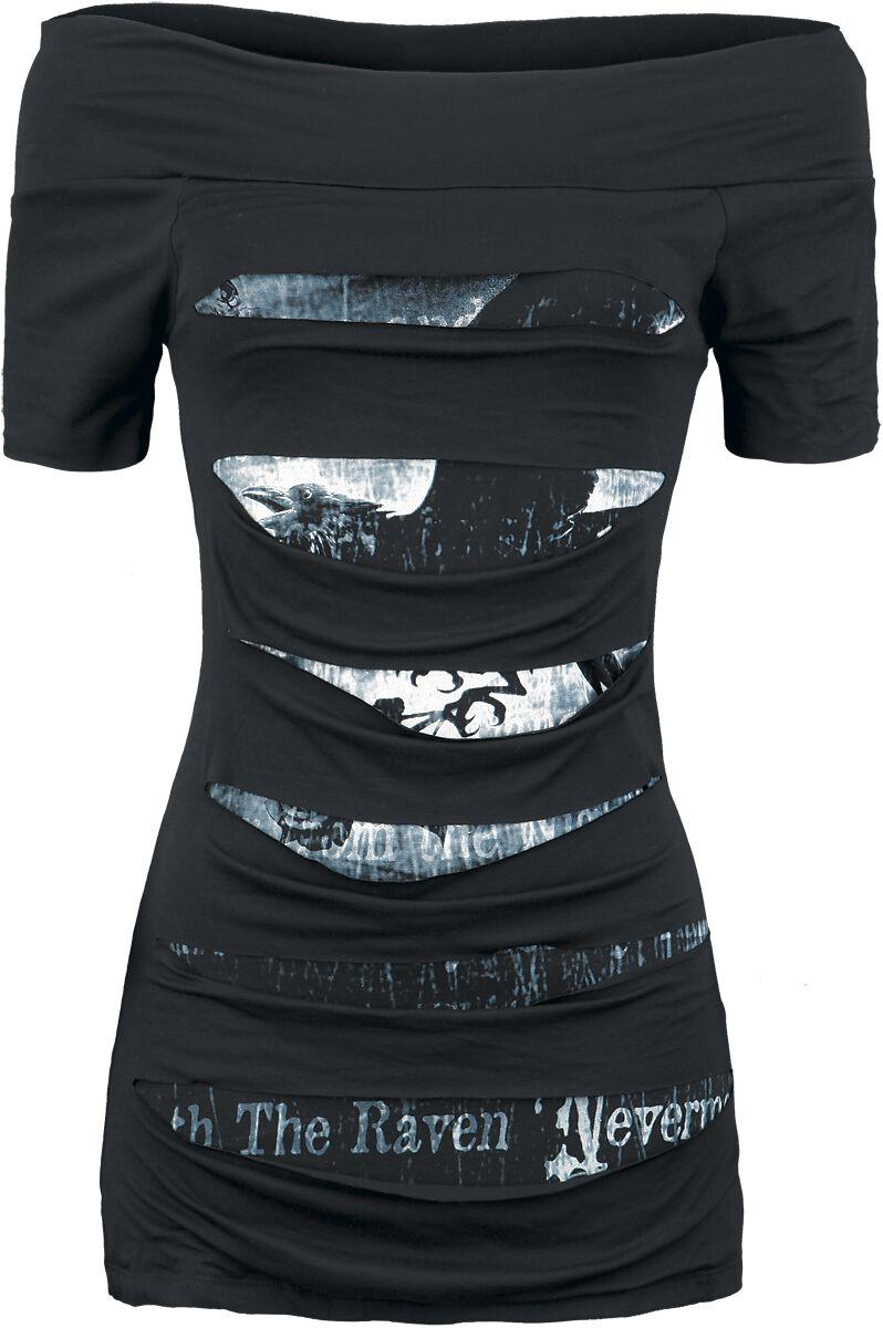 Image of   Alchemy England Nevermore Girlie trøje sort