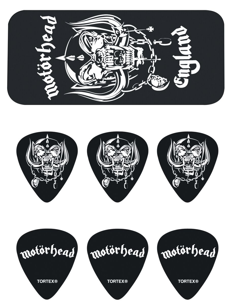 Image of   Motörhead Dunlop Warpig Plekter sort