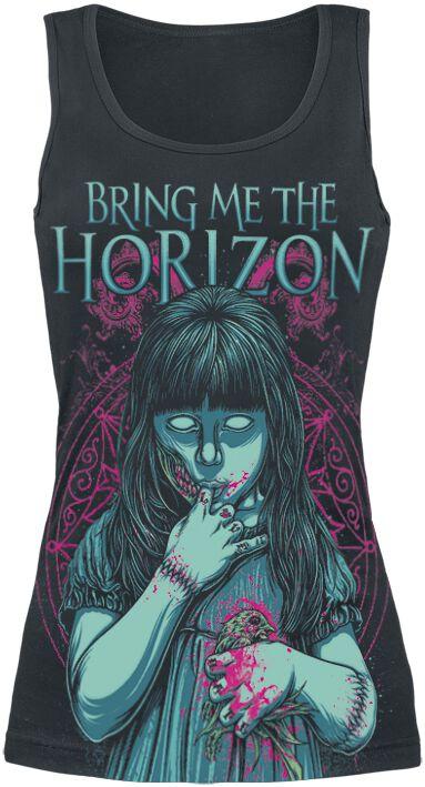 Image of   Bring Me The Horizon My Little Devil Girlie top sort