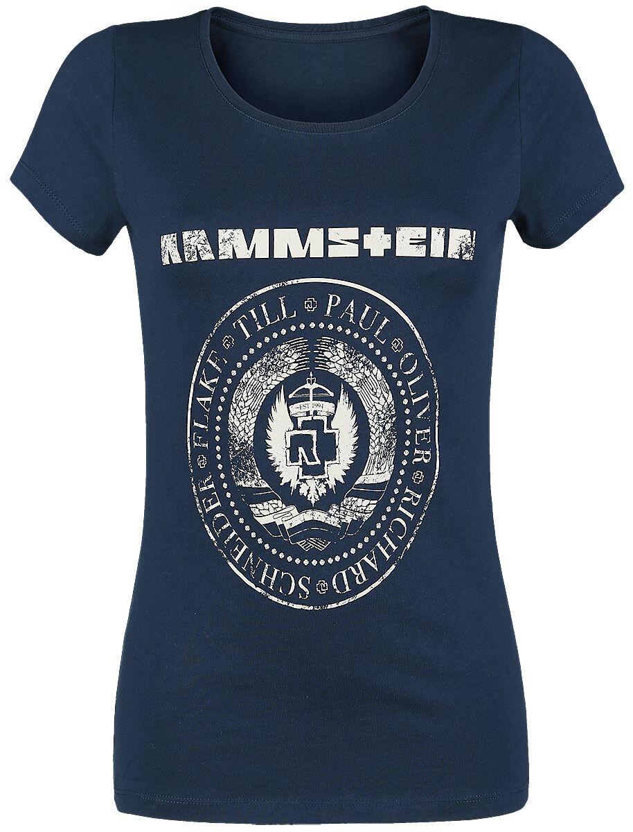 Image of   Rammstein Est. 1994 Girlie trøje navy