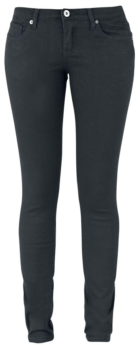 Image of   Forplay Skarlett Girlie jeans sort