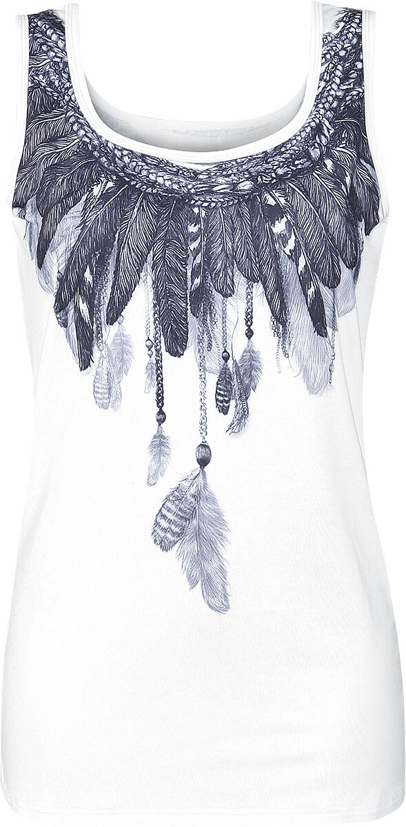 Image of   Innocent Feather Girlie top hvid