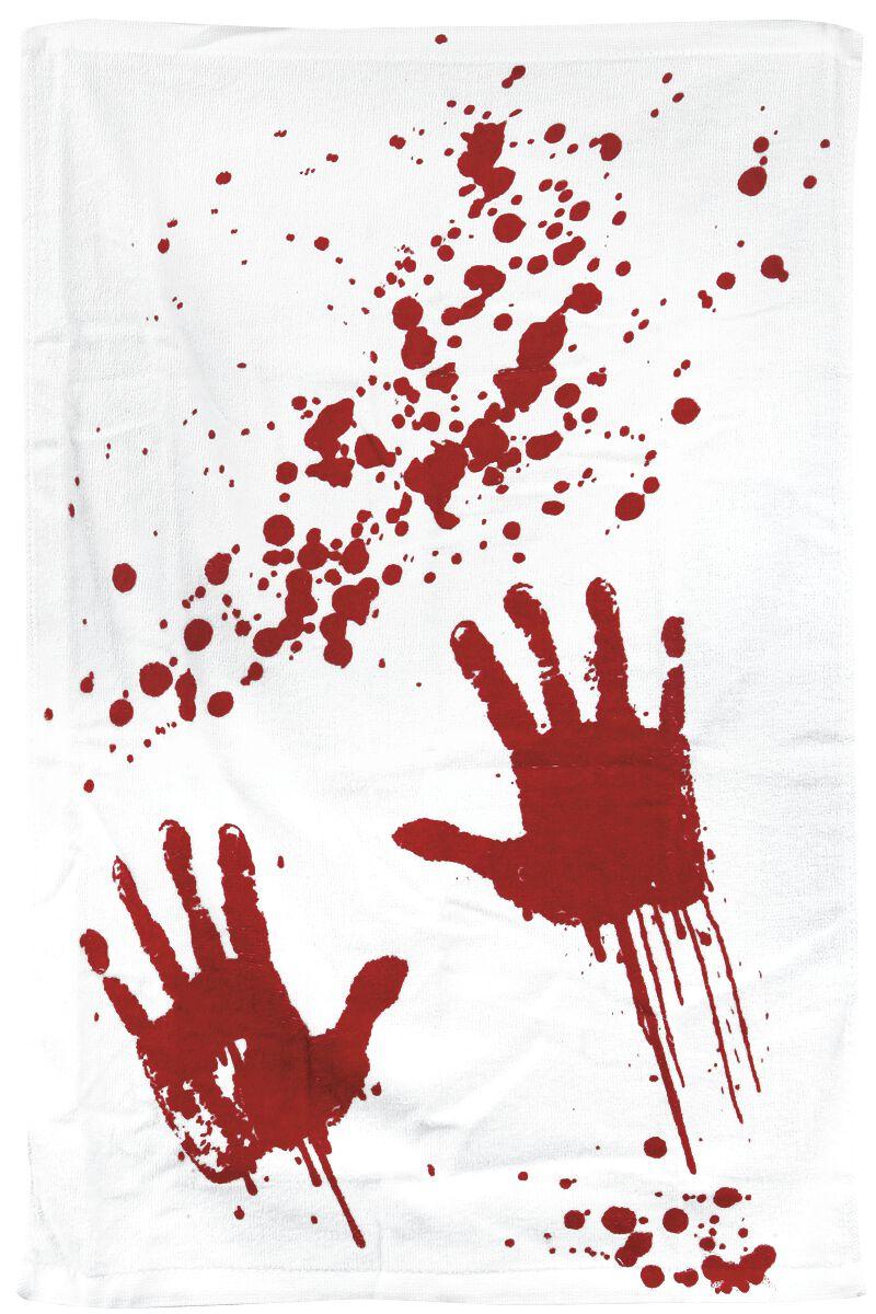 Fun & Trends - Ręczniki - Ręcznik Bloodbath Ręcznik biały - 234552