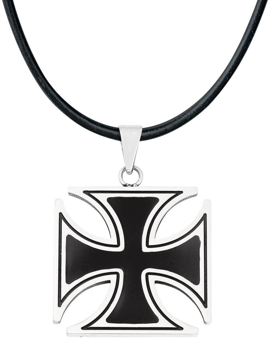 Image of   etNox hard and heavy Black Iron Cross Vedhæng Standard