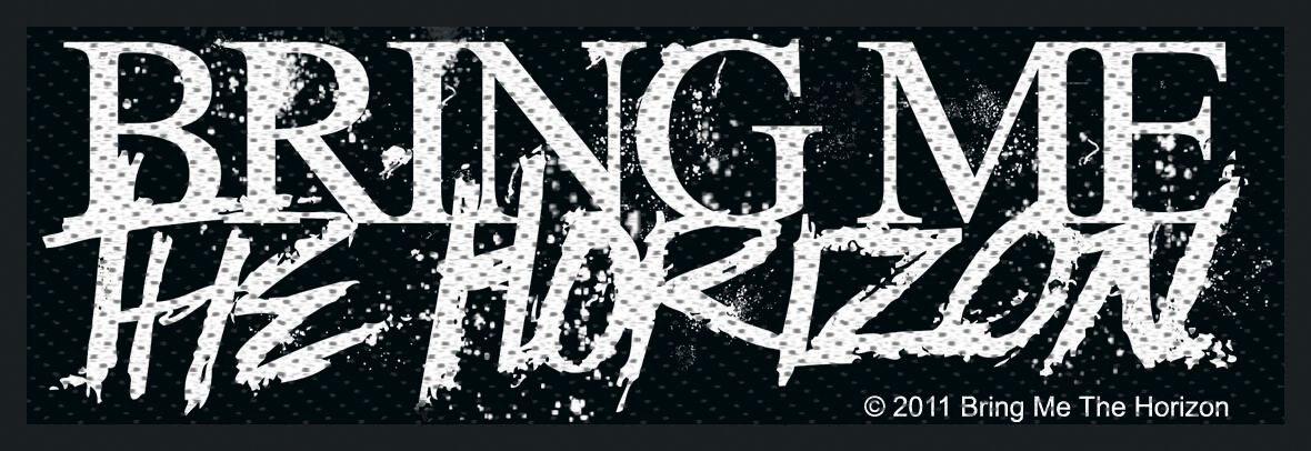 Image of   Bring Me The Horizon Horror Logo Patch Standard