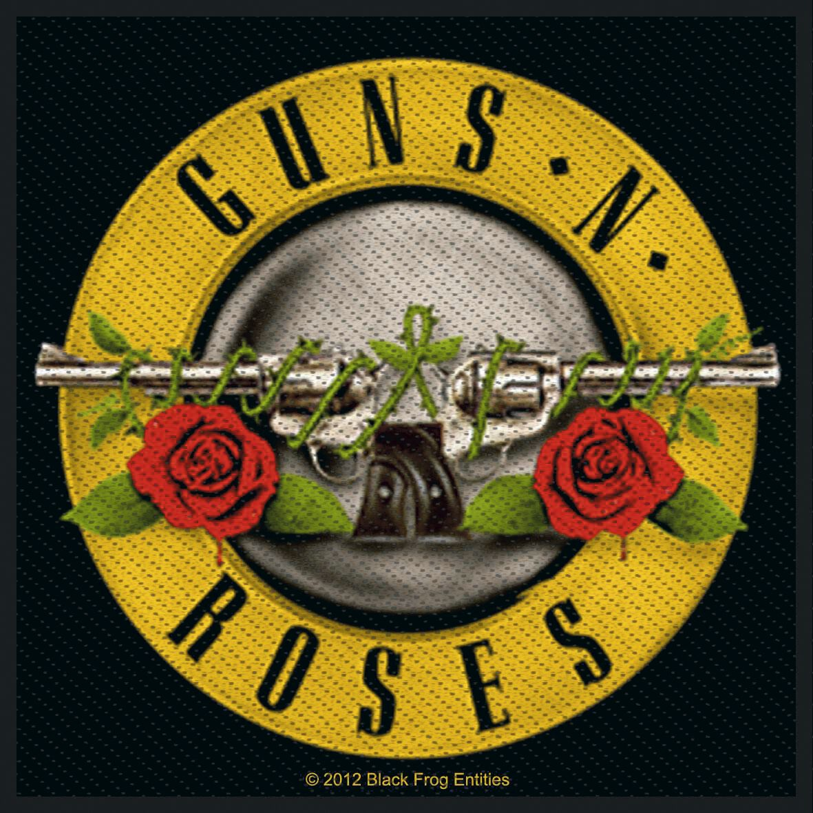 Image of   Guns N' Roses Bullet Logo Patch multifarvet