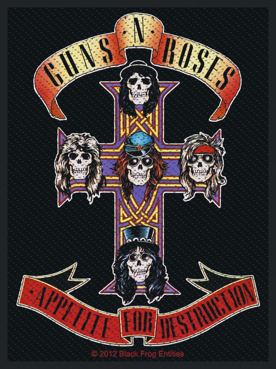 Image of   Guns N' Roses Appetite Patch Standard