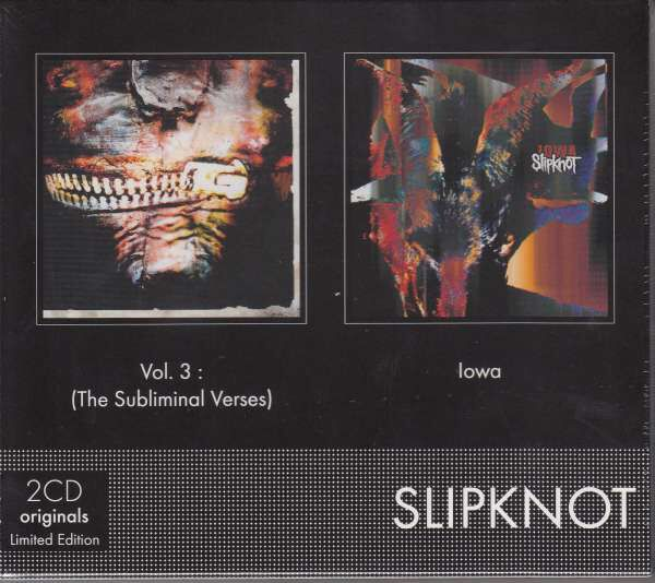 Image of   Slipknot Vol.3: The subliminal verses / Iowa 2-CD standard