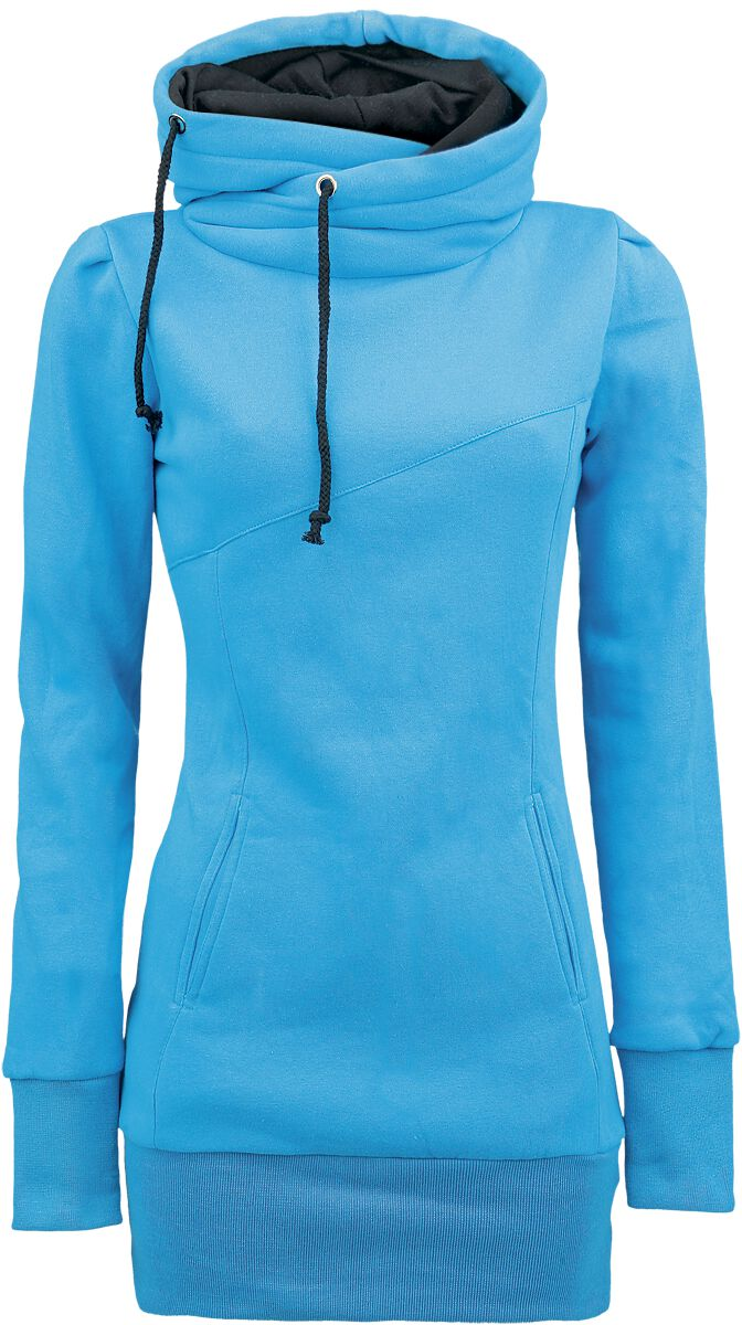 Forplay Smart Hoodie Girl-Kapuzenpulli türkis
