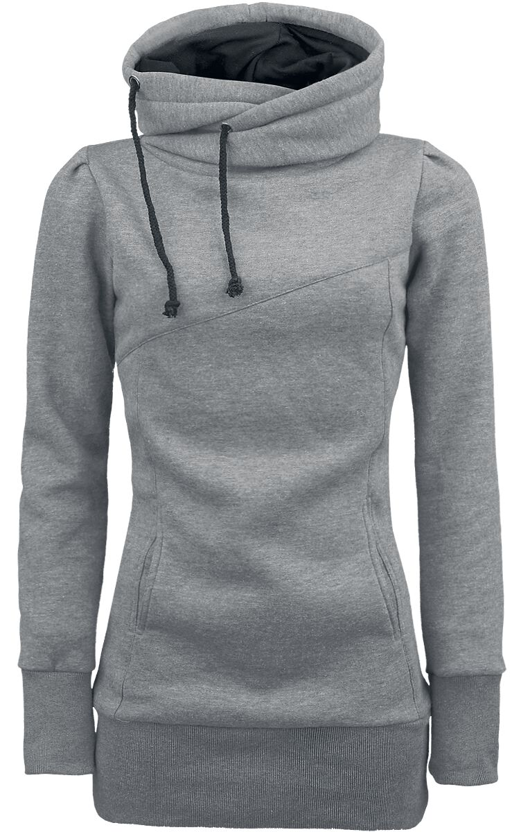 Forplay Smart Hoodie Girl-Kapuzenpulli grau