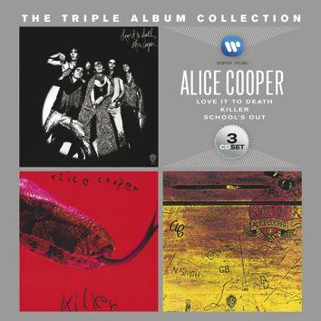 Image of Alice Cooper The triple album collection 3-CD Standard