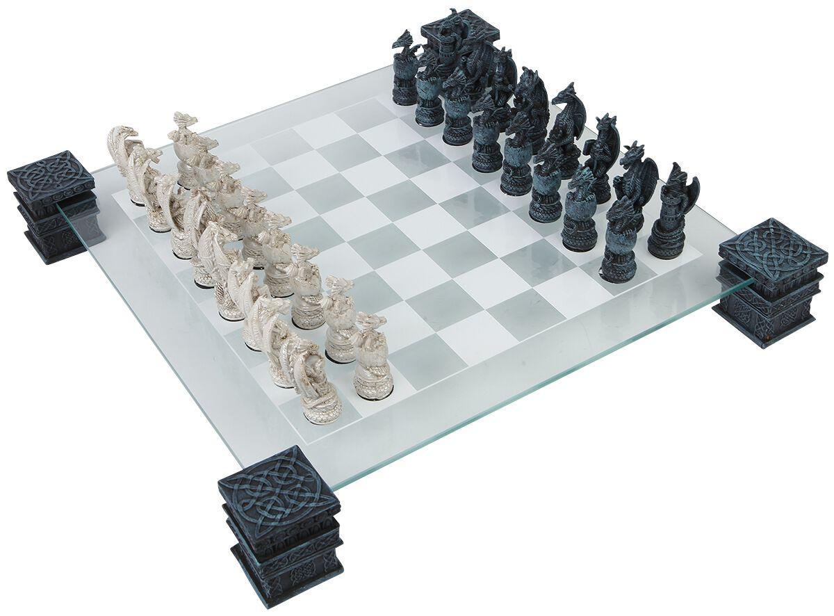 Image of   Nemesis Now Dragon skak Skak Standard