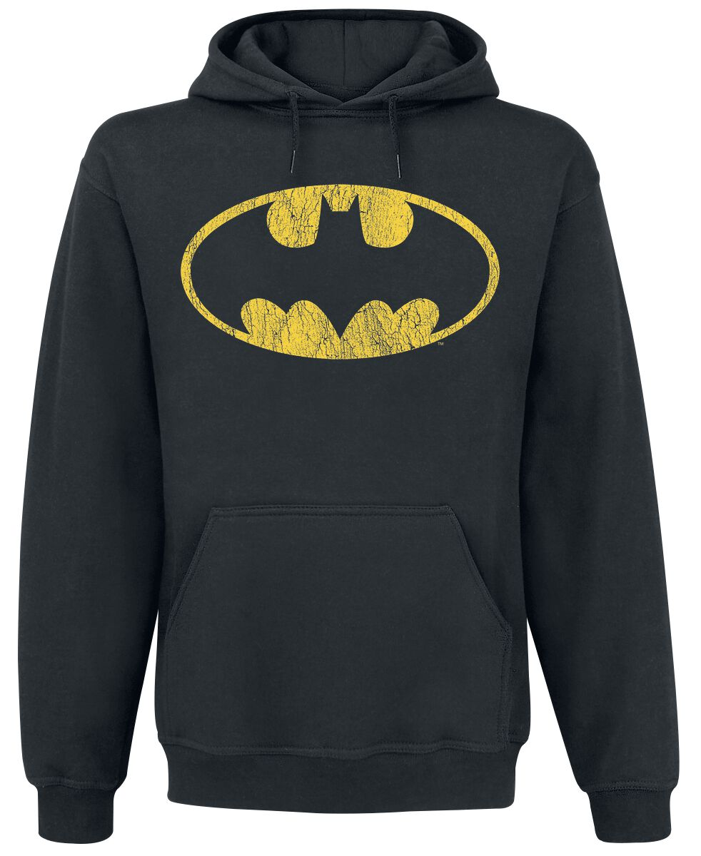 Image of   Batman Logo Hættetrøje sort