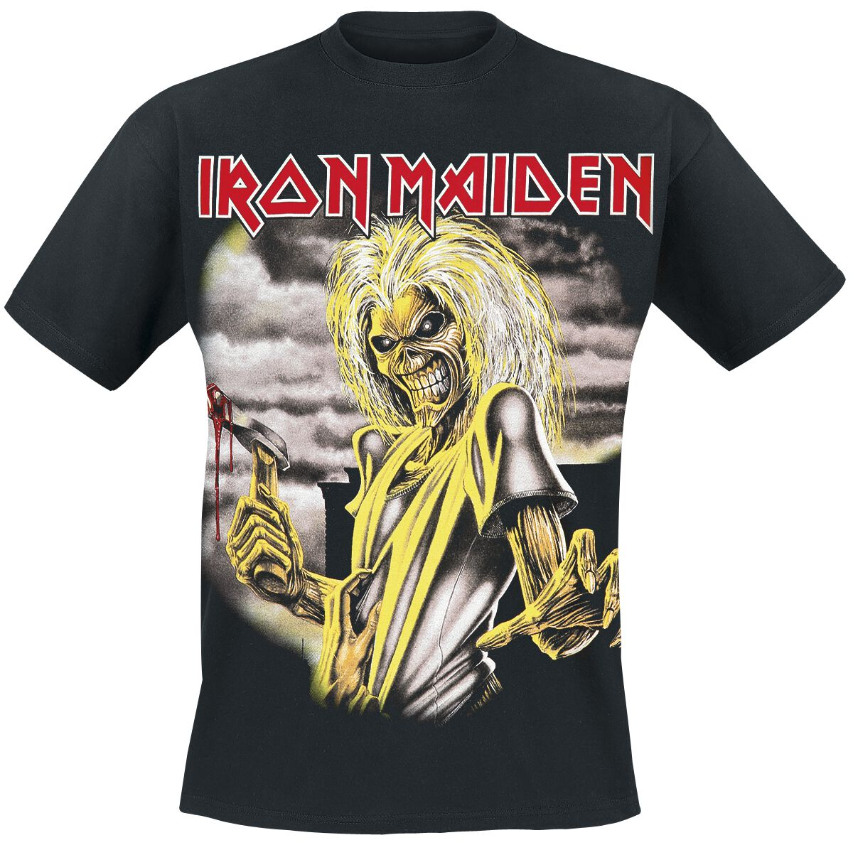 Image of   Iron Maiden Killers T-Shirt sort