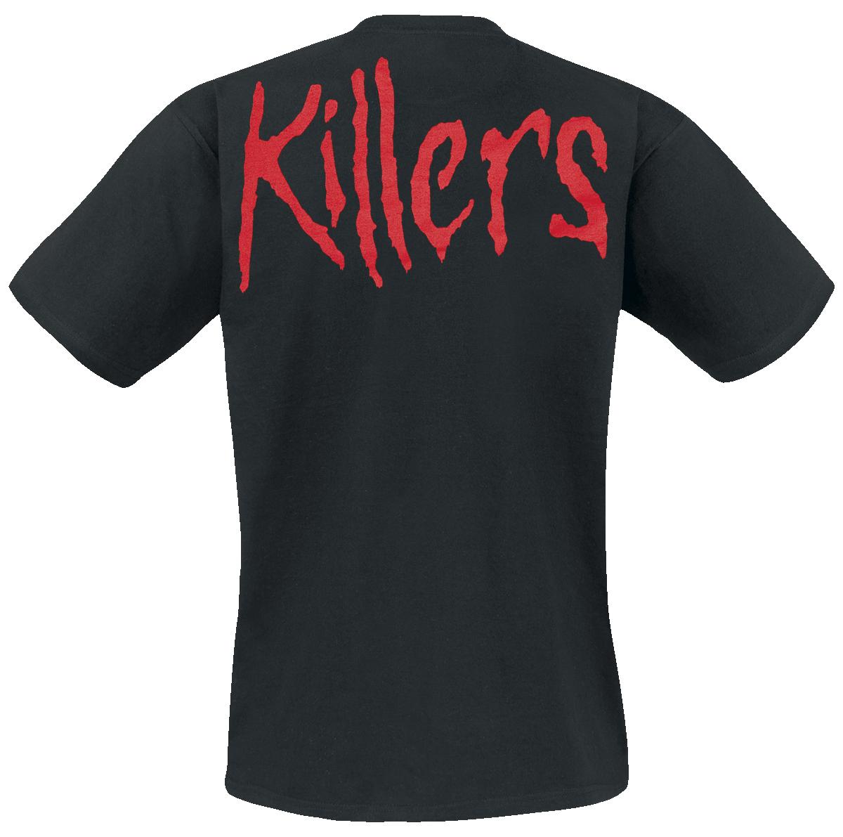iron maiden killers t shirt schwarz ebay. Black Bedroom Furniture Sets. Home Design Ideas