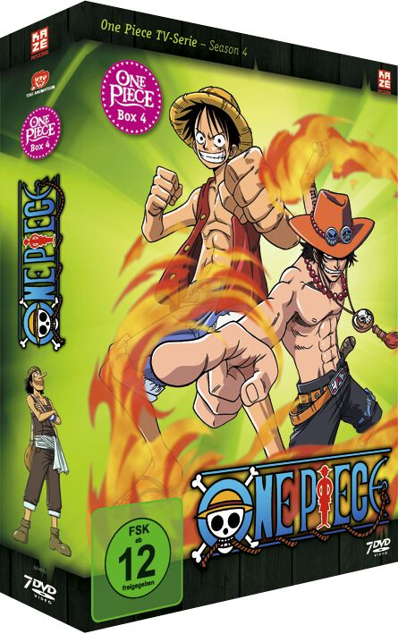 One Piece Die TV-Serie - Box 4 7-DVD Standard