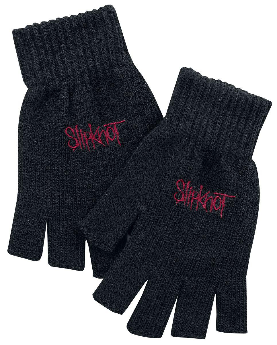 Image of   Slipknot Logo Fingerløse handsker sort