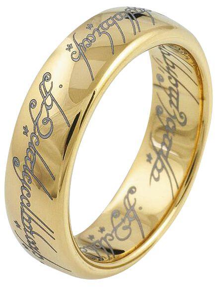 Ringe für Frauen - Der Herr der Ringe Der Eine Ring Ring goldfarben  - Onlineshop EMP