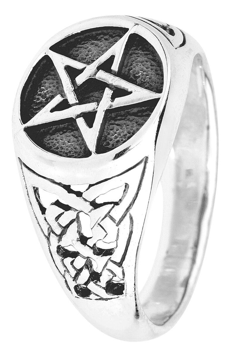 Ringe für Frauen - etNox hard and heavy Pentagram Ring Standard  - Onlineshop EMP