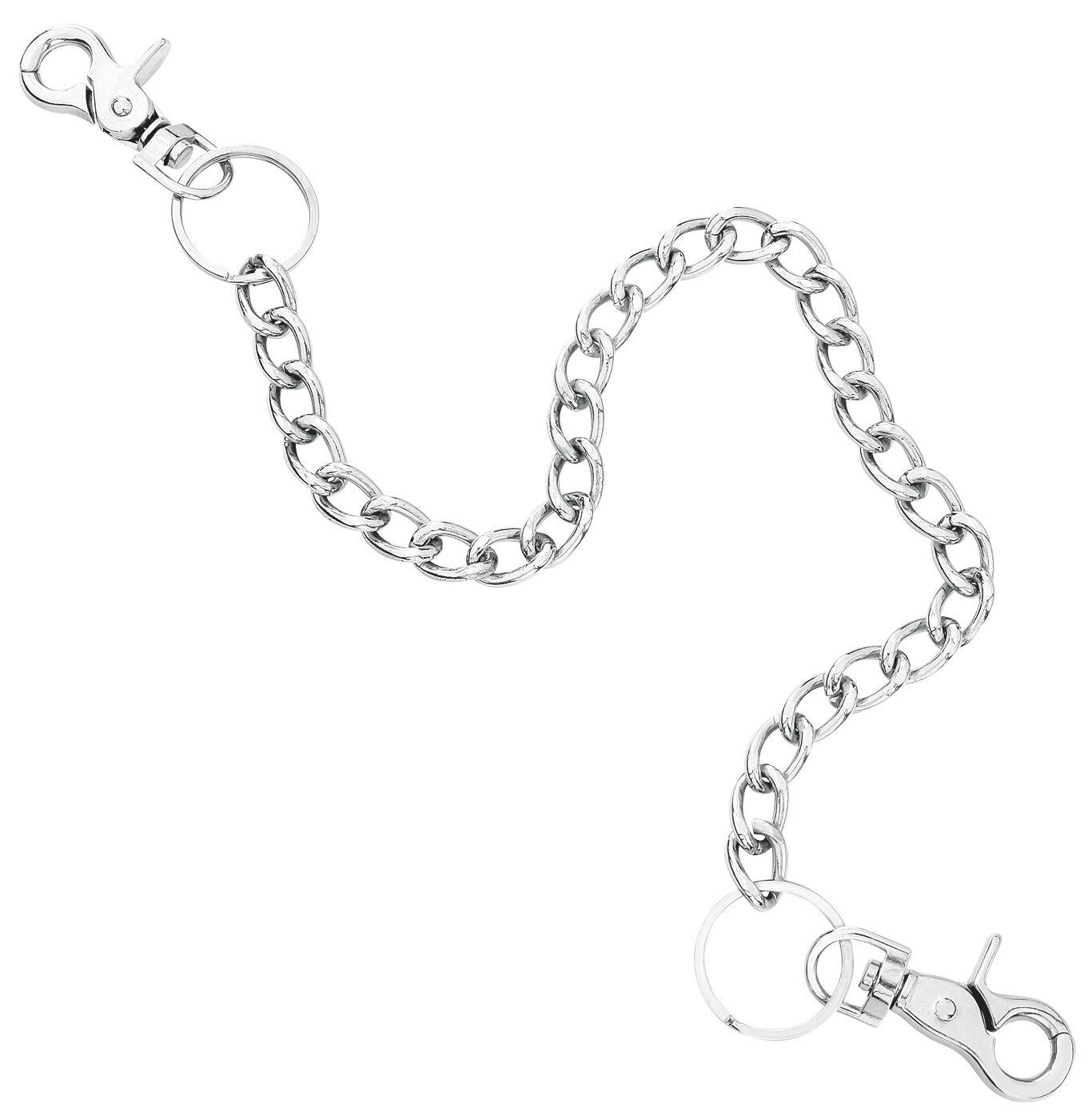 Marki - Naszyjniki - Łańcuch Alcatraz Trouser Chain Łańcuch srebrny - 248508
